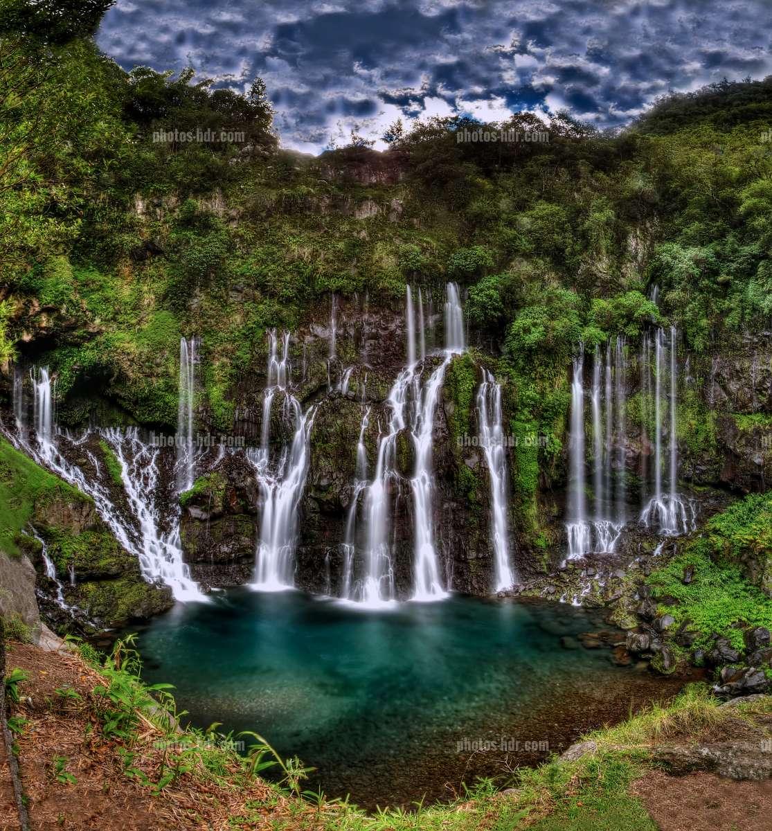 Photos hdr cascades - Galet de riviere ...